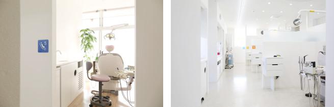 手稲区富丘・西宮の沢の歯医者あきデンタルクリニックの医院内